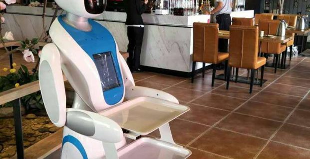 Chinese Restaurants Replacing Waiters With Robots