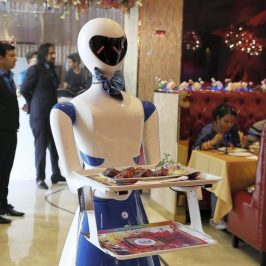 Service Robot Ruby Hits Dubai
