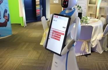 information robot for rent