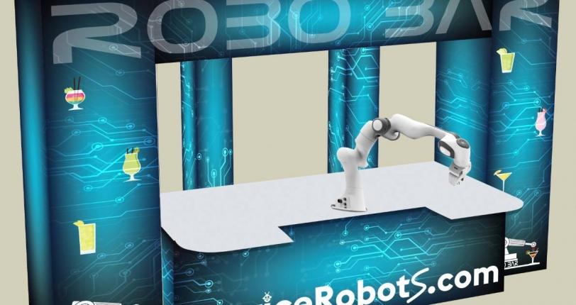 robotic bartender design