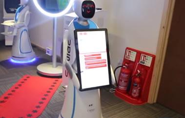 advertising robot