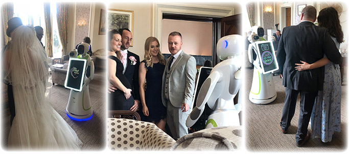 wedding robot photo booth